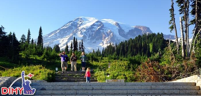 Công viên Rainier tươi xanh