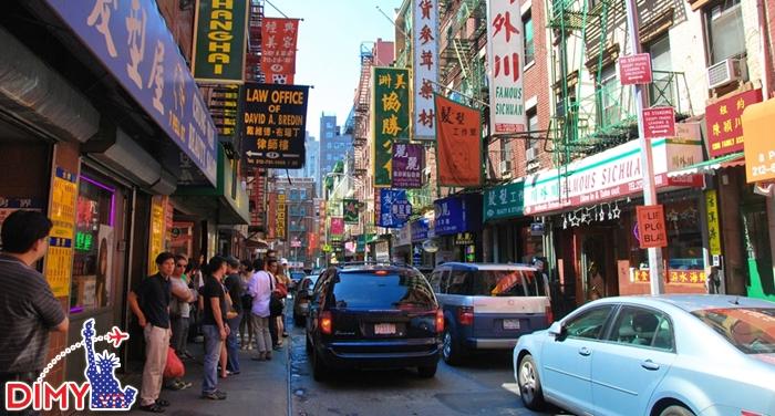 China Town ở New York
