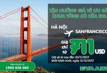 đi San Francisco chỉ từ 711 USD